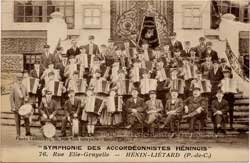 henin lietard musique orchestre symphonie fanfare